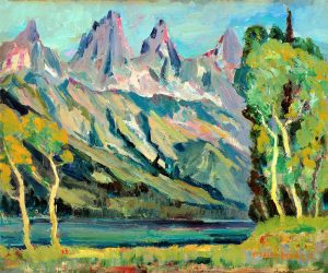 MOSER LANDSCAPE MOUNTAINS