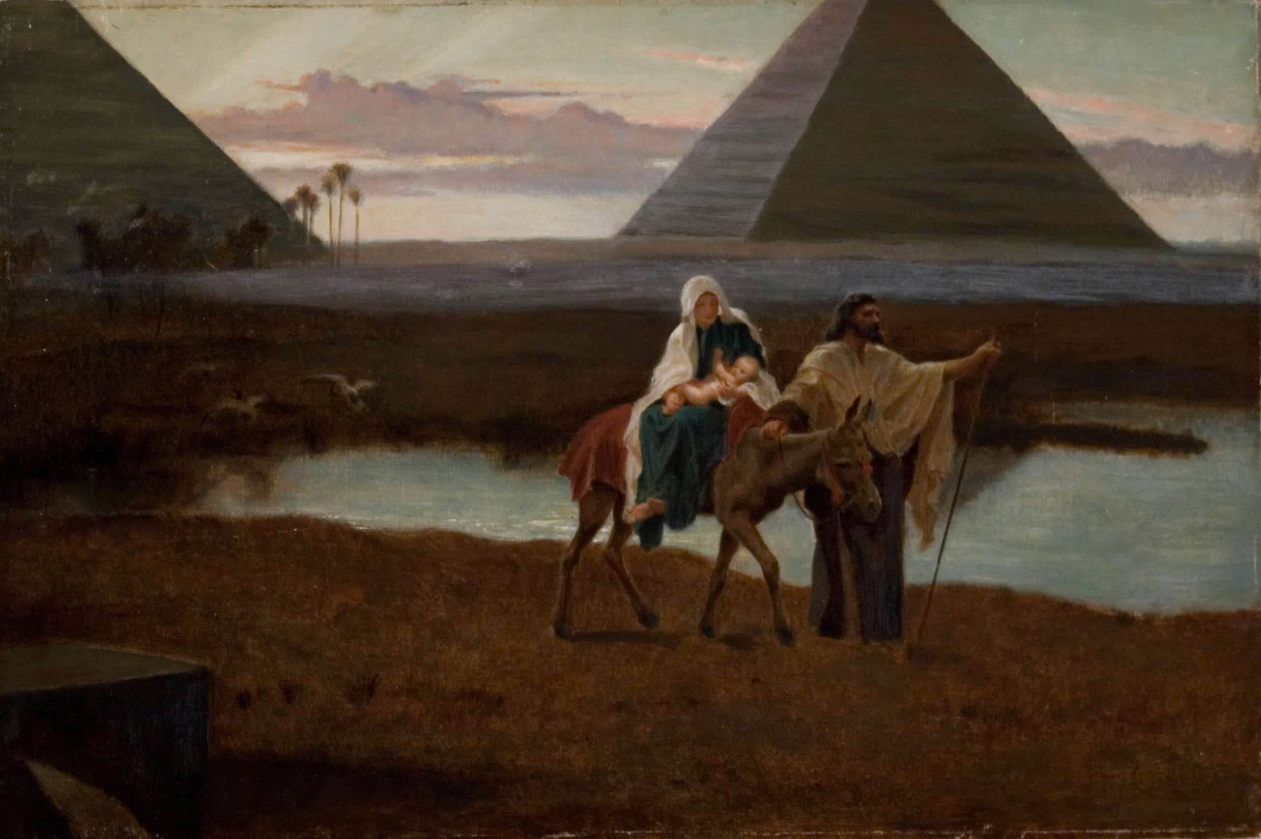"Frederick Goodall, ""The Flight into Egypt"""