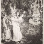 chagall, moses and aaron before pharaoh