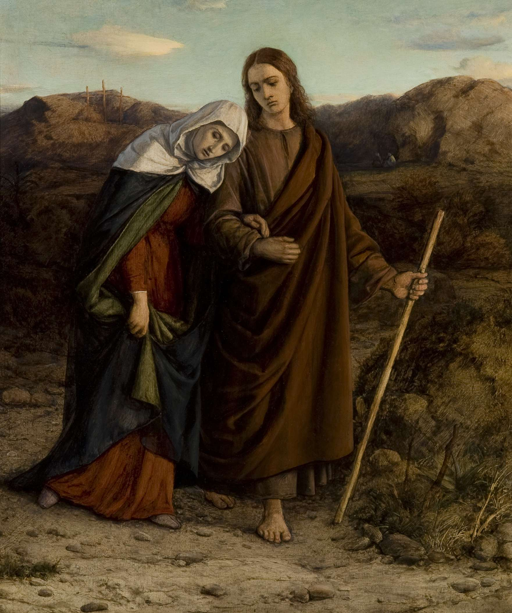 "William Dyce, ""St. John Leading Home His Adopted Mother"""