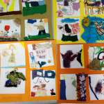 Childrens Art Work in the Education Room