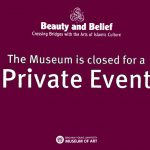 MOA Closed for Private Event
