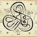 Caligraphic Scroll in Beauty and Belief