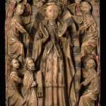 Assumption of the Virgin, Alabaster Sculpture from the Victorian and Albert Museum