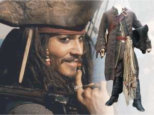 Johnny Depp, Captain Jack Sparrow, Pirates of the Caribbean