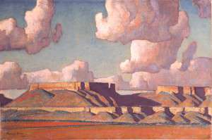 Maynard Dixon. Remembrance of the Tusayan, No. 2.