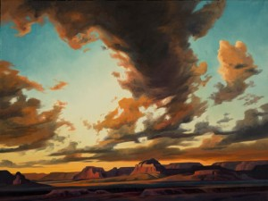 23 - Ed Mell - Storm Remnants, 18 x 24, oil on linen, 200 (1)