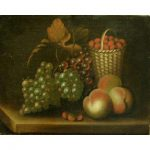 Still Life with Fruit by Rubens Peale