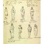 Frontier Sketches, Mahonri Young
