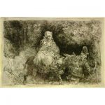 Rembrandt, Flight into Egypt
