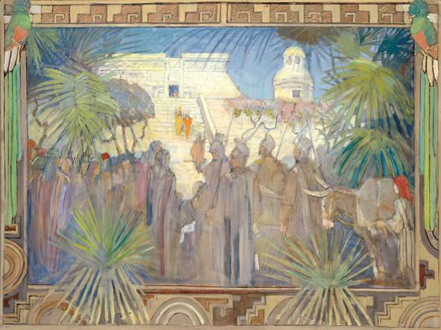 Traveling through South America with Minerva Teichert