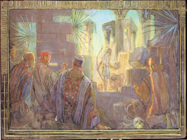 "Minerva Teichert ""Record of the Jaredites"""