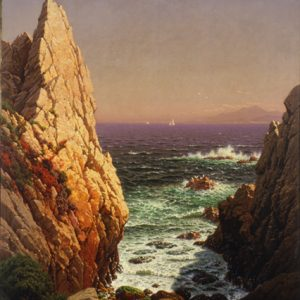 "Raymond Dabb Yelland ""View of Monterey Bay"""