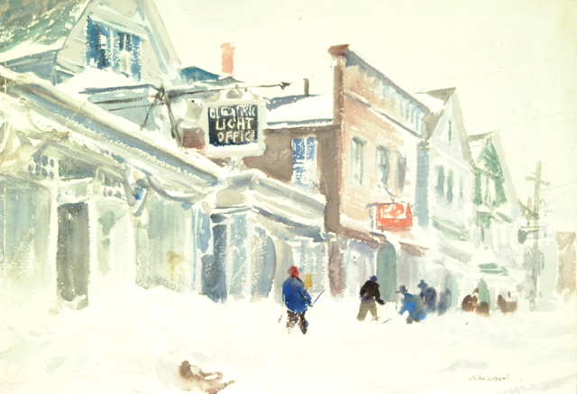 John Whorf, The Winter Day