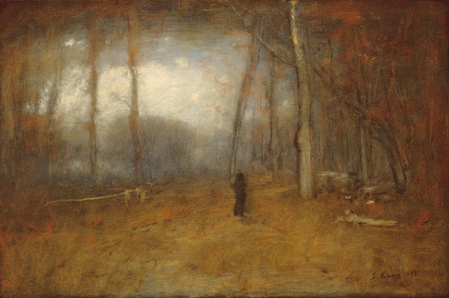 George Inness, November Montclair, 1893