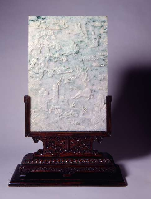 Table Screen Panels, 19th Century