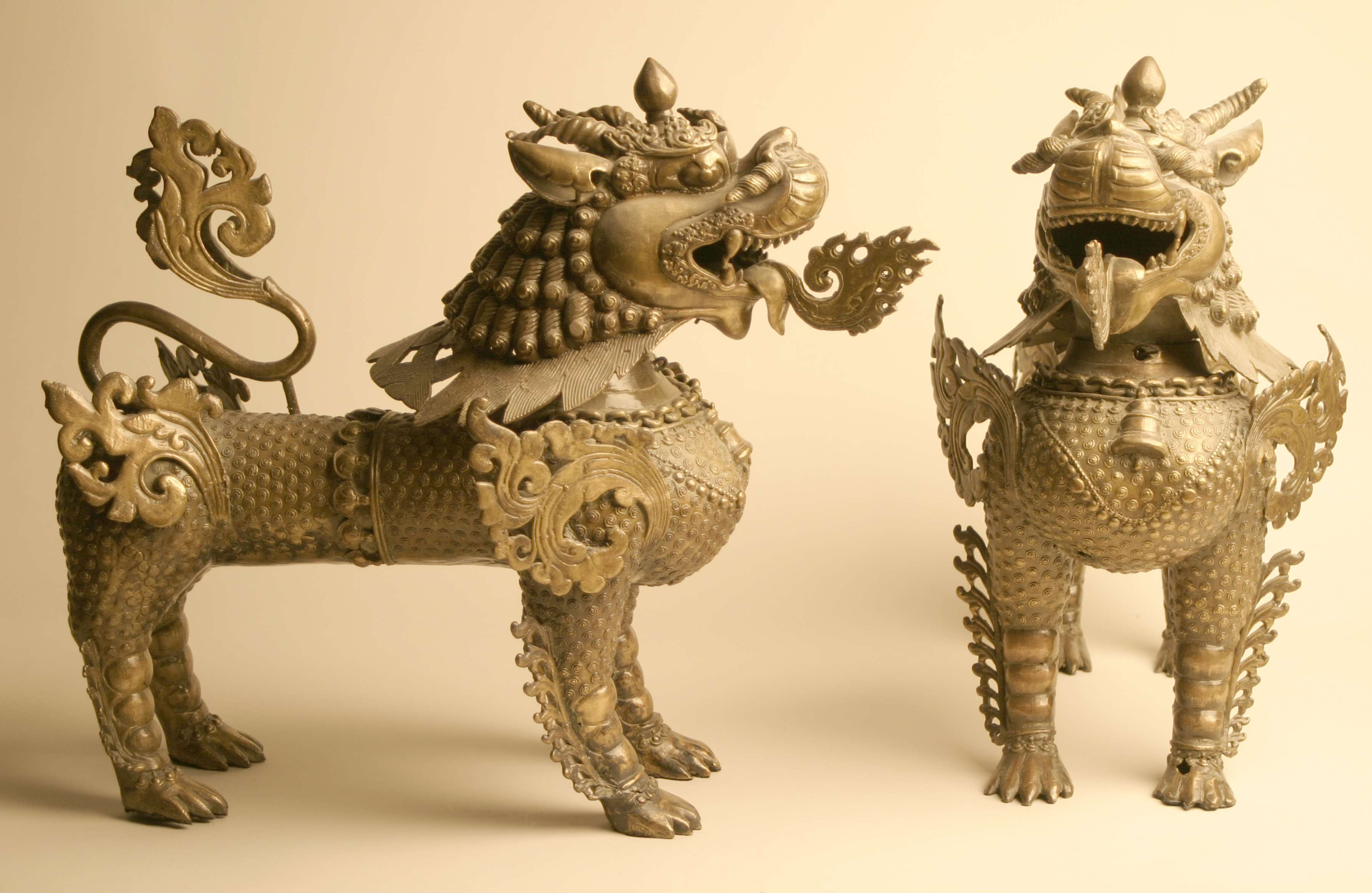 Lion-Dog Incense Burner, 19th century