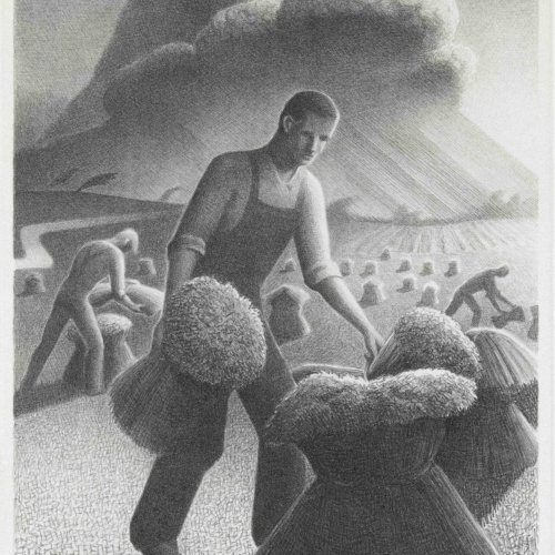 Grant Wood, Approaching Storm