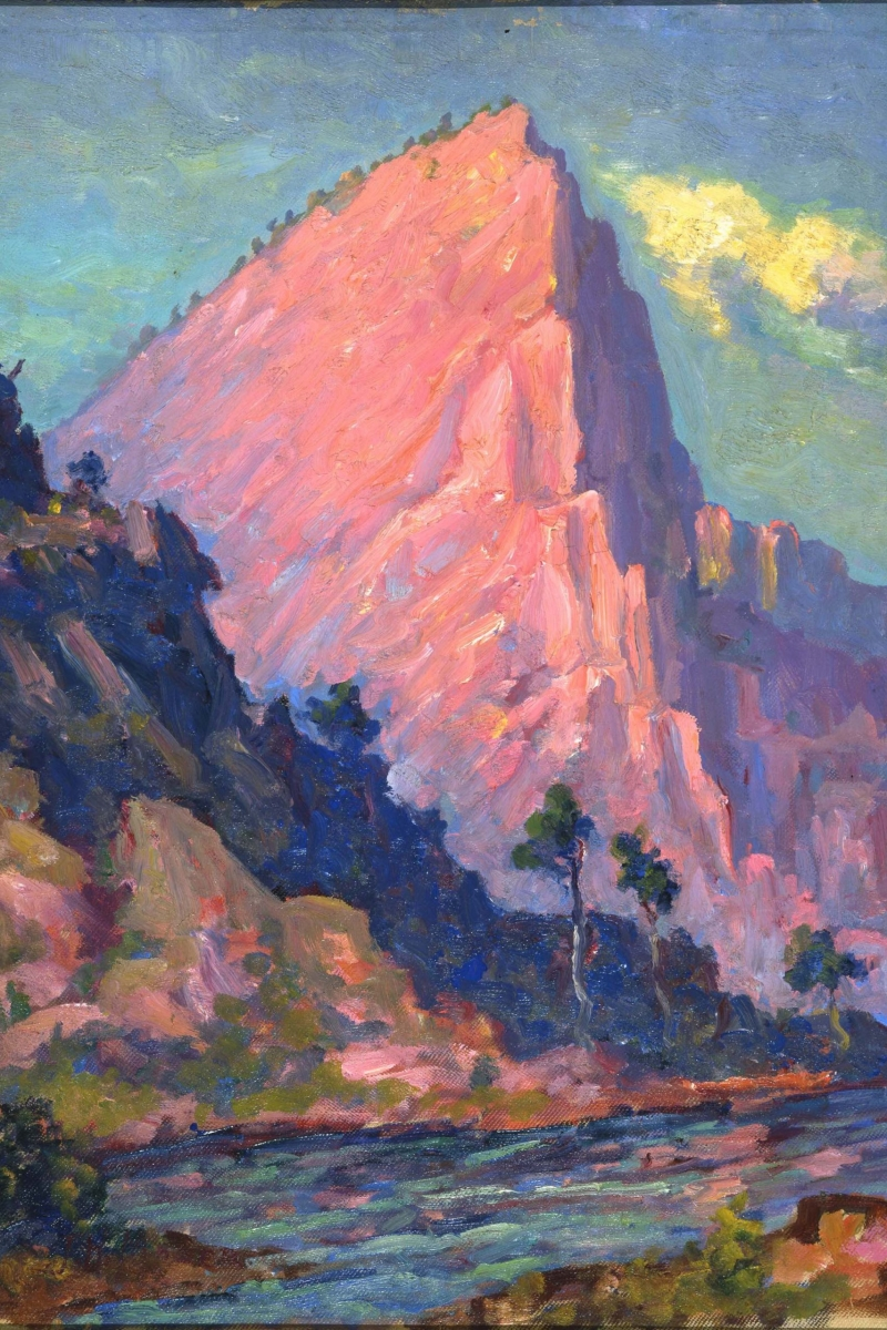 "John Henri Moser, ""Red Butte River"""