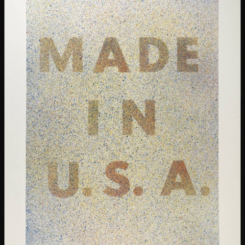 America, Her Best Product 1974 by Edward Ruscha born 1937