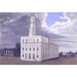 "C.C.A. Christensen, ""The Nauvoo Temple"""