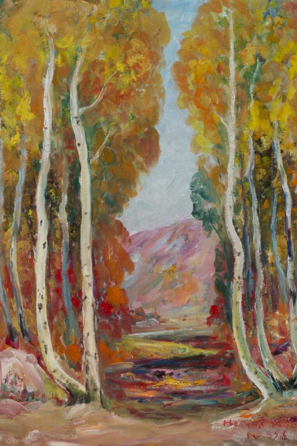 John Henri Moser, Logan Canyon Golden Aspens