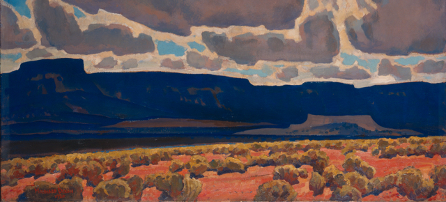 Dixon, Mesas in Shadow (cropped)