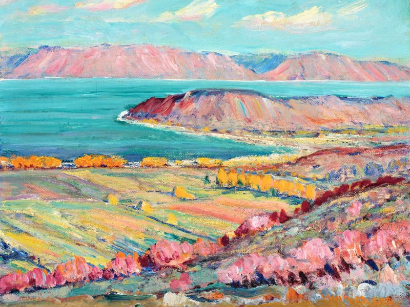 John Henri Moser, Bear Lake Looking South from Garden City
