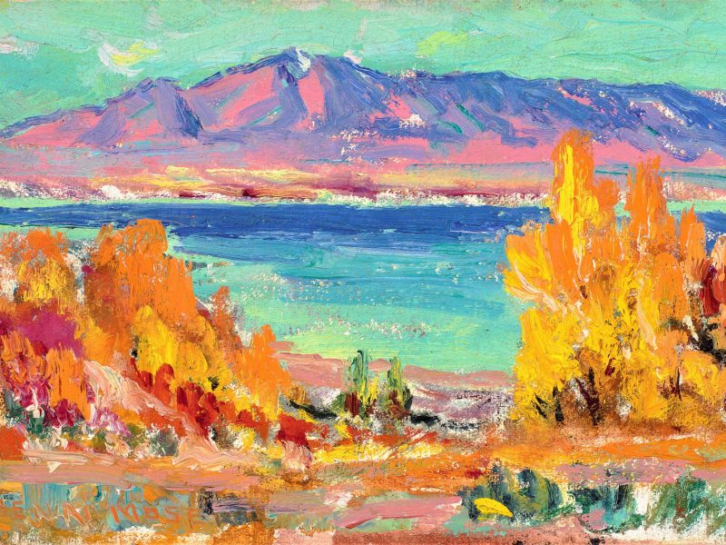 John Henri Moser, Bear Lake
