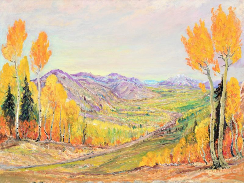 John Henri Moser, Logan Canyon Near Beaver Mountain