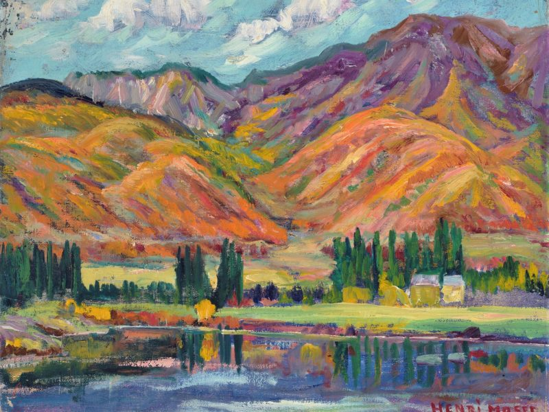 John Henri Moser, Murray Canyon