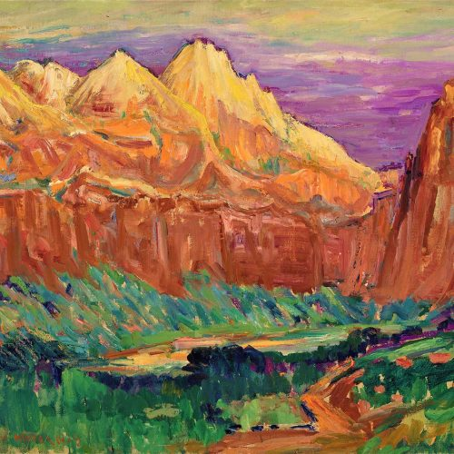 John Henri Moser, Red Stone Canyons