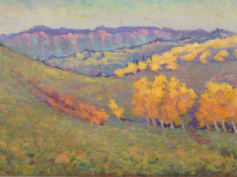 John Henri Moser, Southern Utah Mountains by Cedar City