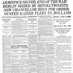 NYT Front Page WWI
