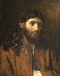 Circle of Rembrandt, Head of Christ
