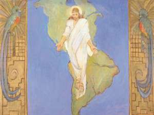 Teichert, Christ in America