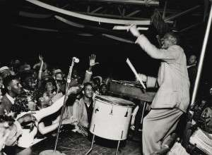 """Ernest Withers, """"Lionel Hampton, The Hippodrome"""""""