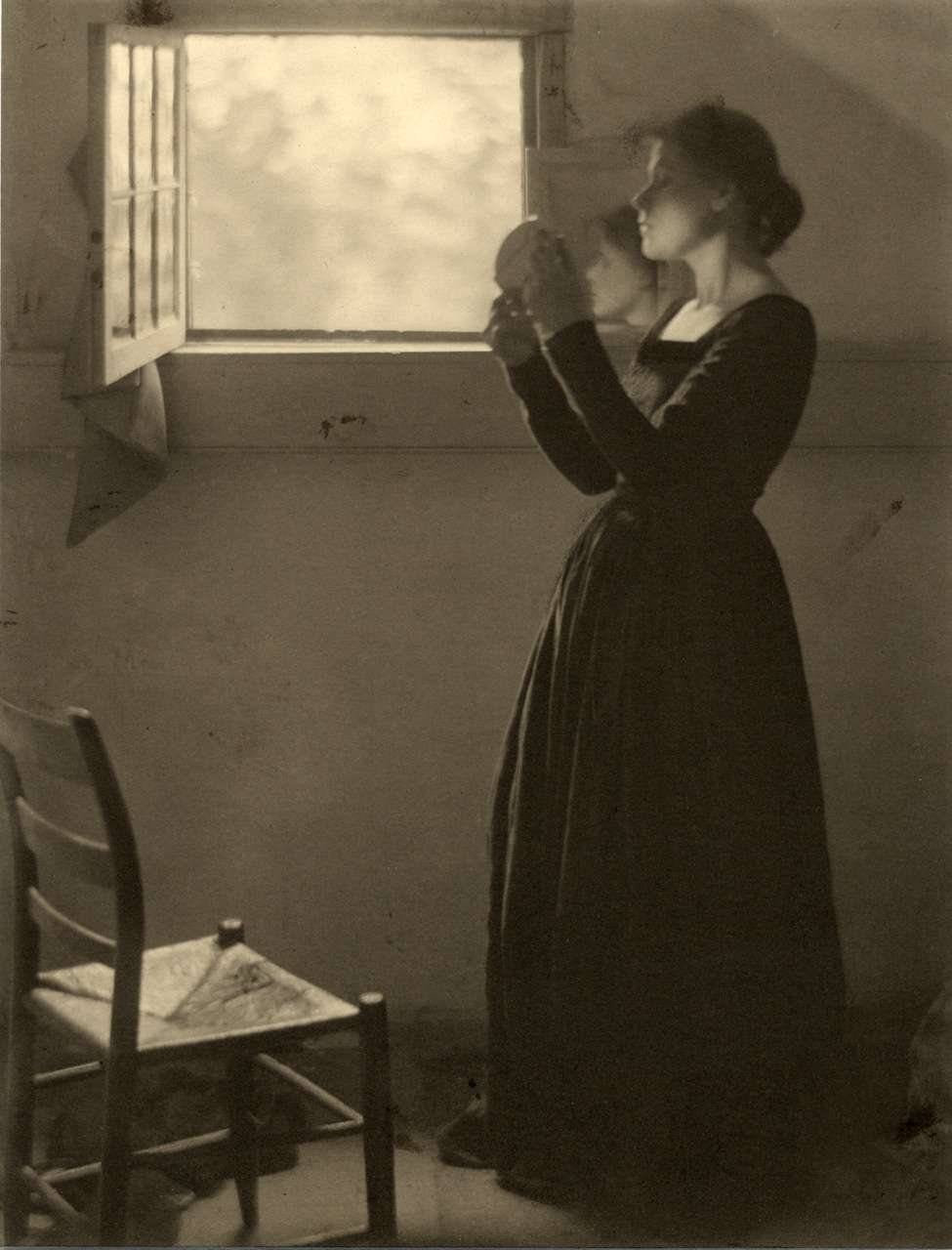 Clarence White, The Mirror