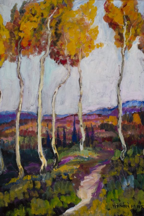 John Henri Moser, Quaking Aspens Old Homestead