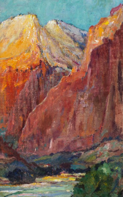 John Henri Moser, Red Canyon