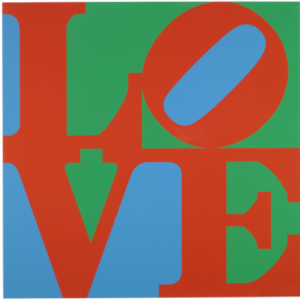 Robert Indiana, LOVE, 1976