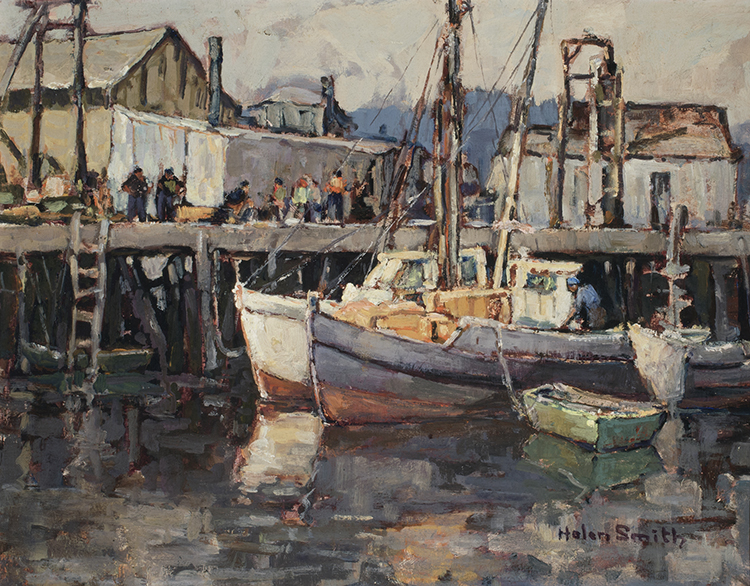 "Helen Smith, ""Newport Harbor, California"""
