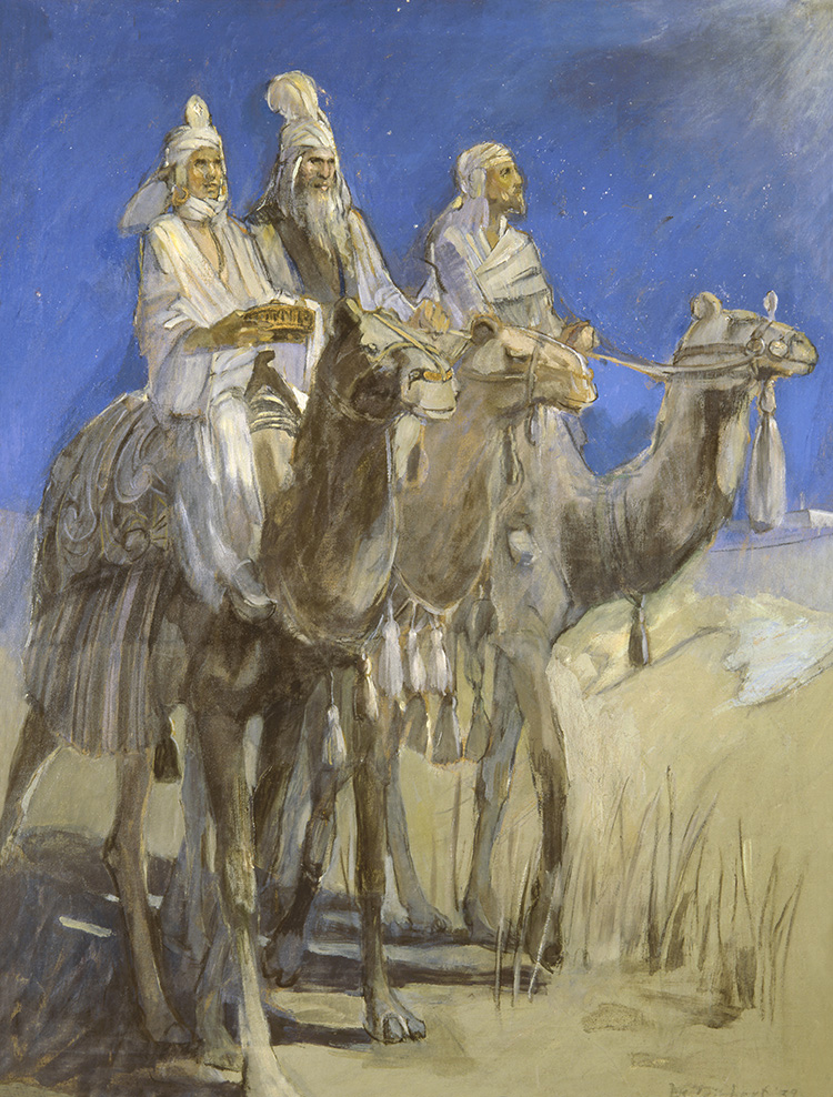 Teichert, The Three Wisemen