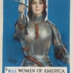 War Poster: Joan of Arc Saved France
