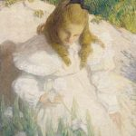 In the Sun By Julian Alden Weir