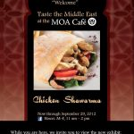 MOA Cafe Chicken Shawarma