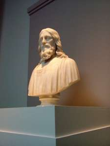 Hyrum Powers (1805  - 1873) , The Ideal Christ. 1871, marble