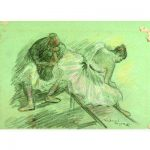 Tired Dancers After Degas by Mahonri M. Young