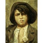 George Bellows, The New York Street Urchin