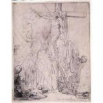 Rembrandt, Descent from the Cross, etching